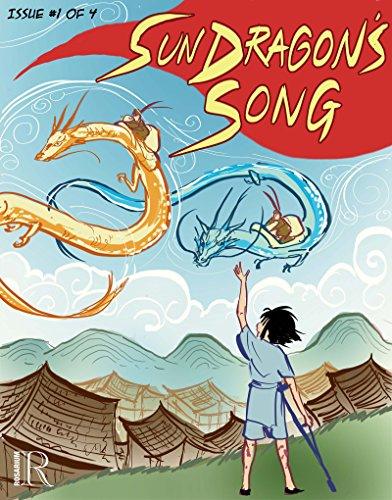 Book Cover - Sun Dragon's Song #1 by Joyce Chng & Kim Miranda