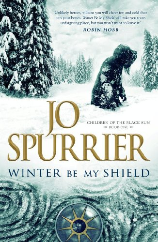 Book Cover - Winter Be My Shield by Jo Spurrier