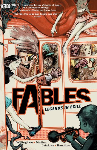 Fables Vol. 1 by Bill Willingham & Lan Medina | books, reading, book covers