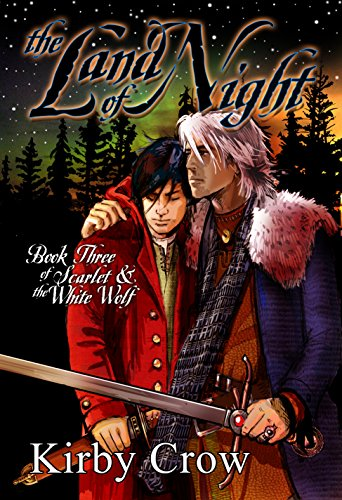 The Land of Night by Kirby Crow   reading, books, books covers, cover love, snow