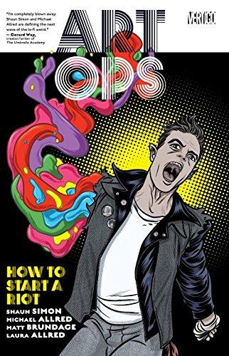 Art Ops Vol. 1 by Shaun Simon, Matt Brundage, & Michael Allred height=