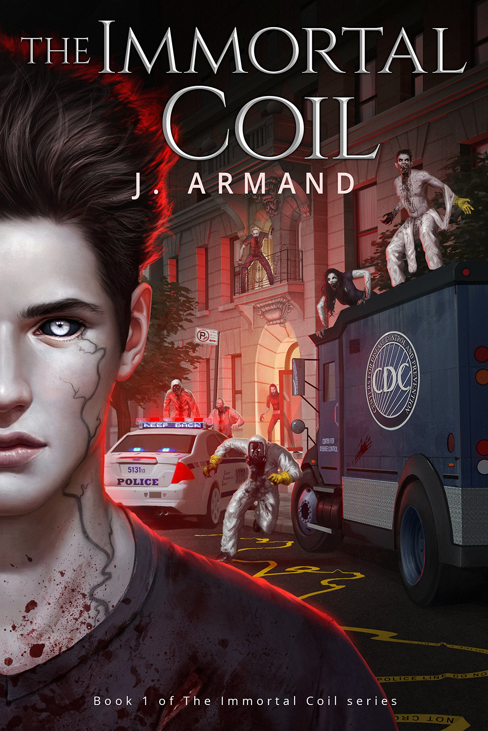 The Immortal Coil by J. Armand | reading, books, book covers, cover love
