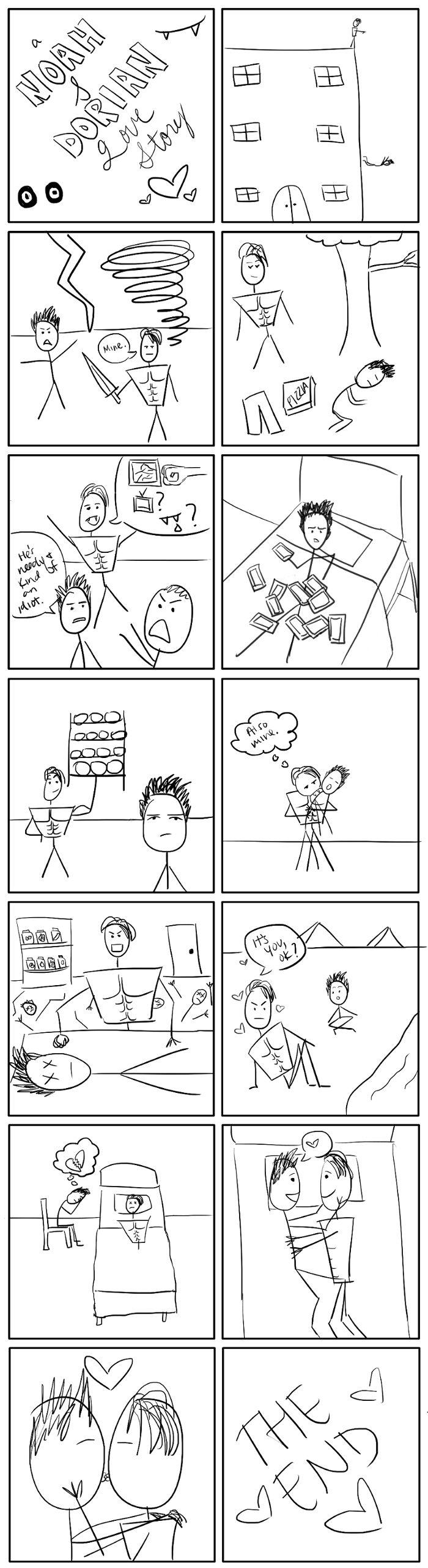 A Noah & Dorian Love Story Comic