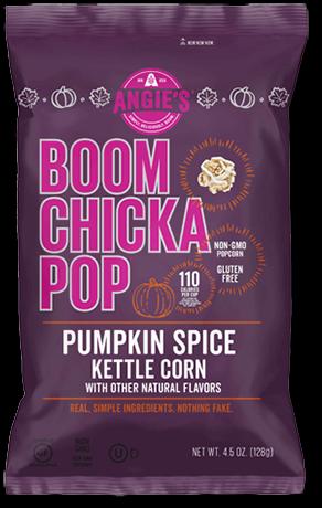 Angie's Pumpkin Spice Kettle Corn