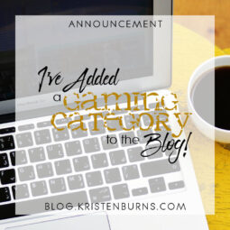 Announcement: I've Added a Gaming Category to the Blog!