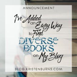 Announcement: I've Added an Easy Way to Find Diverse Books on My Blog + Some Recs