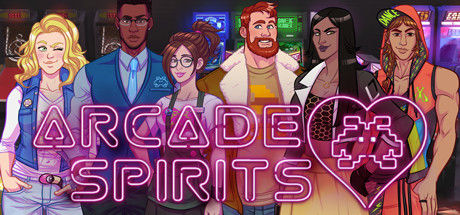 Arcade Spirits by Fiction Factory Games (promo image of all the characters)