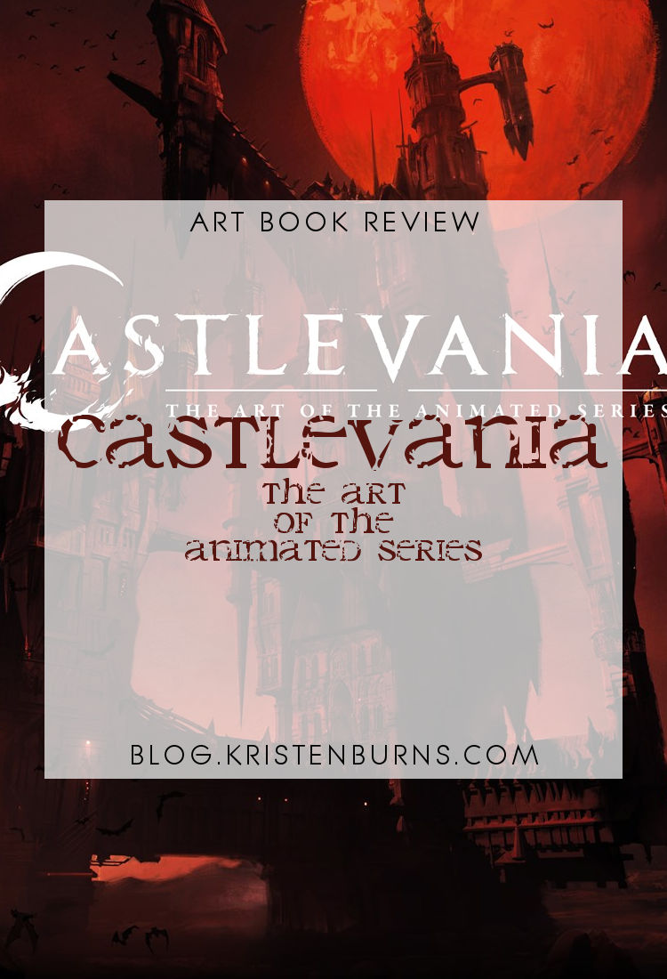 Art Book Review: Castlevania - The Art of the Animated Series