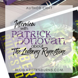 Author Chat: Interview with Patrick Donovan about The Ledberg Runestone