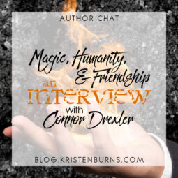Author Chat + Giveaway: Magic, Humanity, & Friendship // An Interview with Connor Drexler + Win a Signed Paperback of Mad God Walking!