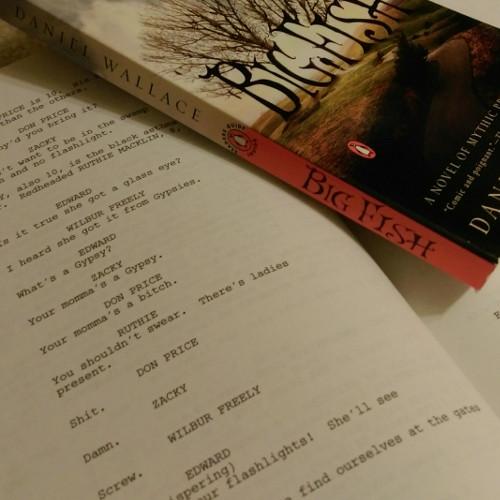 Big Fish Novel & Screenplay (1)
