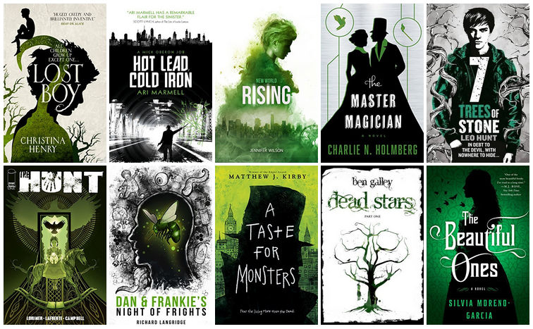 Black, White, & Green Book Covers | reading, books, book covers, cover love, green