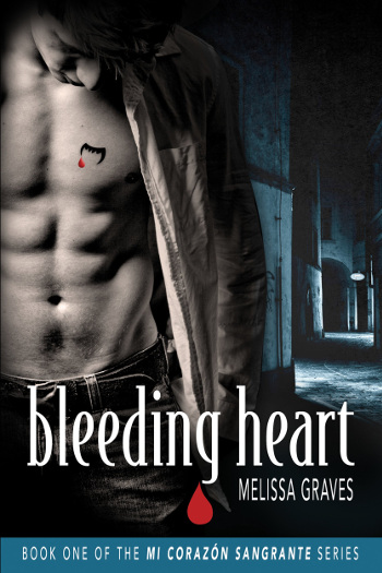 Book Review: Bleeding Heart (Mi Corazon Sangrante Book 1) by Melissa Graves | books, reading, book covers, book reviews, fantasy, paranormal romance, urban fantasy, lgbt, vampires