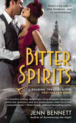 Book Cover - Bitter Spirits by Jenn Bennett