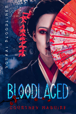 Book Cover - Bloodlaced by Courtney Maguire