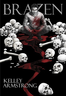 Brazen by Kelley Armstrong | reading, books, book covers, cover love, skulls