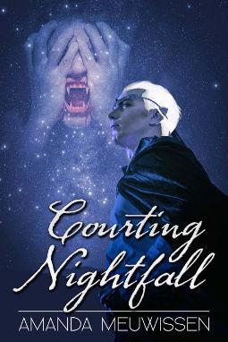 Book Cover - Courting Nightfall by Amanda Meuwissen