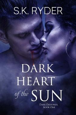 Book Review: Dark Heart of the Sun (Dark Destinies Book 1) by S.K. Ryder | reading, books, paranormal romance, urban fantasy, vampires
