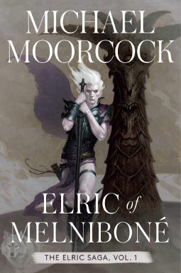 Book Cover - Elric of Melnibone by Michael Moorcock