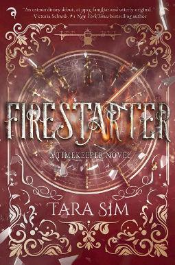 Book Cover - Firestarter by Tara Sim