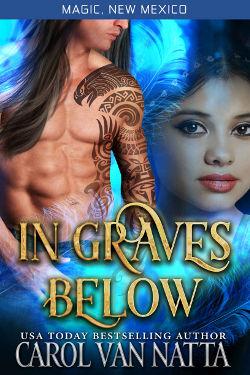 Book Cover - In Graves Below by Carol Van Natta