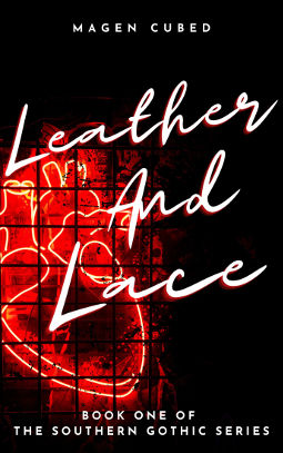 Book Cover - Leather and Lace by Magen Cubed