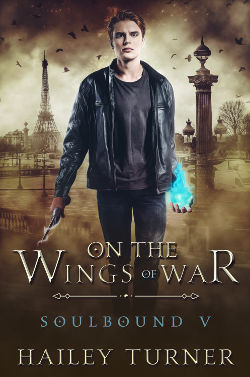 Book Cover - On the Wings of War by Hailey Turner