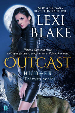 Book Review: Outcast (Hunter - A Thieves Series Book 4) by Lexi Blake