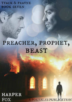 Book Cover - Preacher, Prophet, Beast by Harper Fox