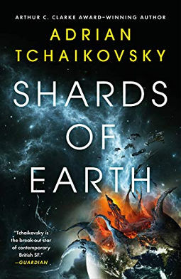 Book Cover - Shards of Earth by Adrian Tchaikovsky