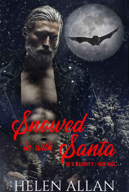 Book Cover - Snowed in with Santa by Helen Allan