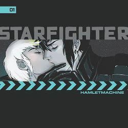 Book Cover - Starfighter Ch. 1 by Hamlet Machine