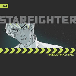 Book Cover - Starfighter Ch. 2 by Hamlet Machine