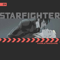 Book Cover - Starfighter Ch. 4 by Hamlet Machine