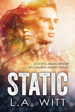 Book Review: Static by L.A. Witt | science fiction, lgbt+
