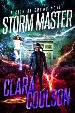 Book Cover - Storm Master by Clara Coulson