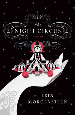 Book Cover - The Night Circus by Erin Morgenstern