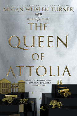 Book Cover - The Queen of Attolia by Megan Whalen Turner