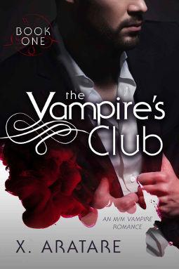 Book Cover - The Vampire's Club Book 1 by X. Aratare