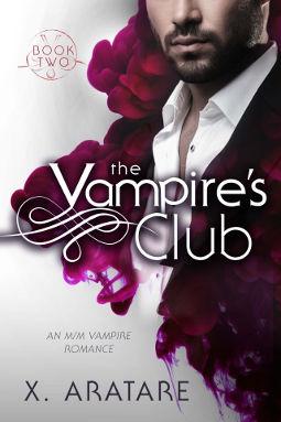 Book Cover - The Vampire's Club Book 2 by X. Aratare