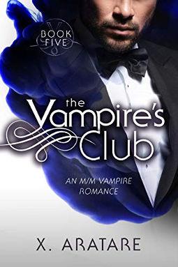 Book Cover - The Vampire's Club Book 5 by X. Aratare