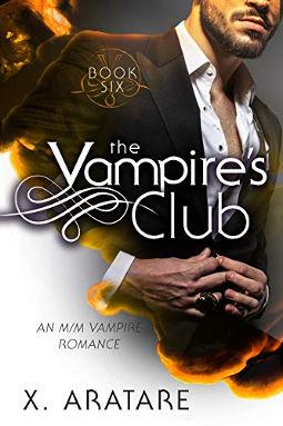 Book Cover - The Vampire's Club Book 6 by X. Aratare