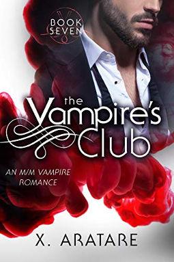 Book Cover - The Vampire's Club Book 7 by X. Aratare