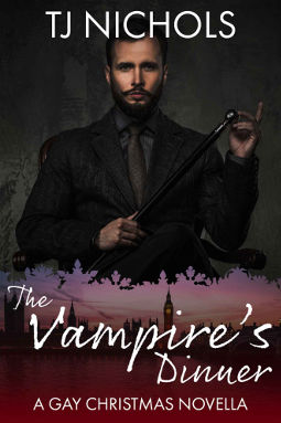 Book Cover - The Vampire's Dinner by TJ Nichols