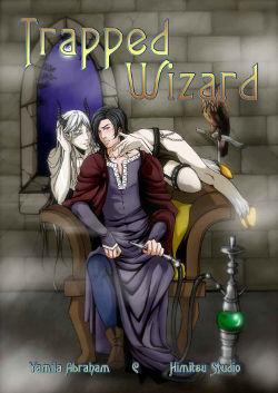 Trapped Wizard by Yamila Abraham