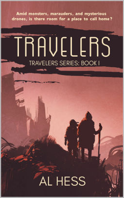 Book Cover - Travelers by Al Hess