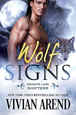 Book Cover - Wolf Signs by Vivian Arend