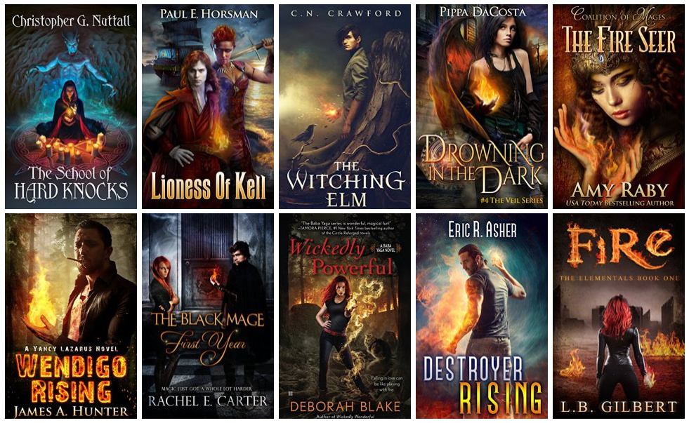 Book Covers featuring Fire Magic | books, reading, book covers, cover love, fire