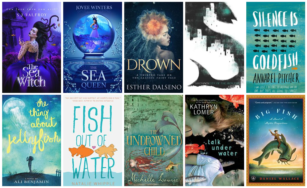 Book Covers featuring Fish | books, reading, book covers, cover love, fish