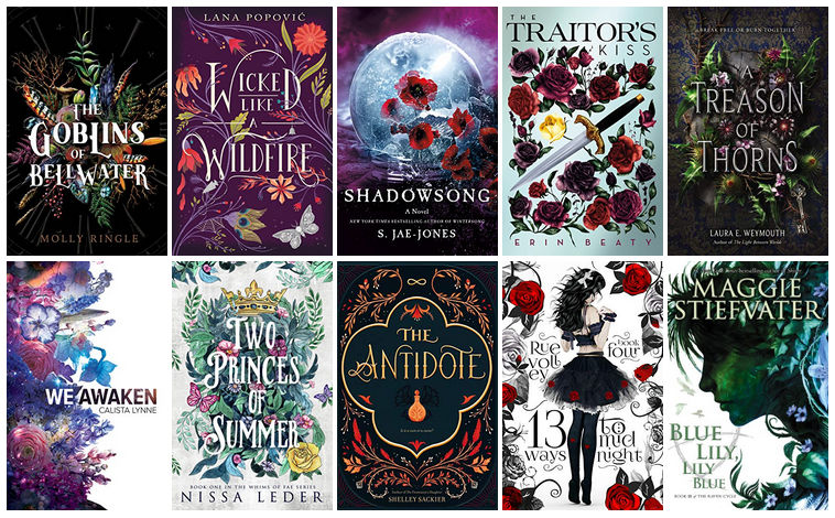 Book Covers featuring Flowers | reading, books, book covers, cover love, flowers